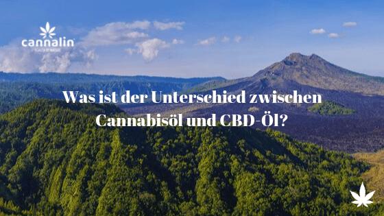 Unterschied CBD und Cannabisöl