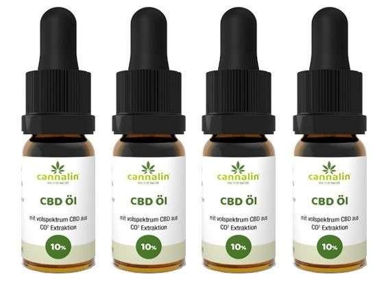 CBD Öl 10% 10ml | 4 zum Preis von 3