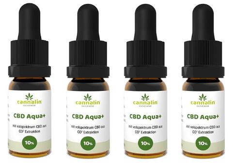 Aqua CBD 10% Angebot 10ml | 4 zum Preis von 3