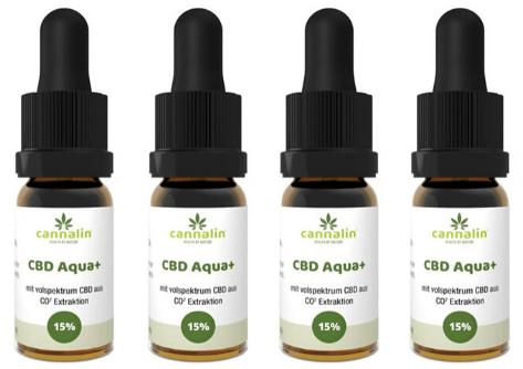 Aqua CBD 15% Angebot 10ml | 4 zum Preis von 3