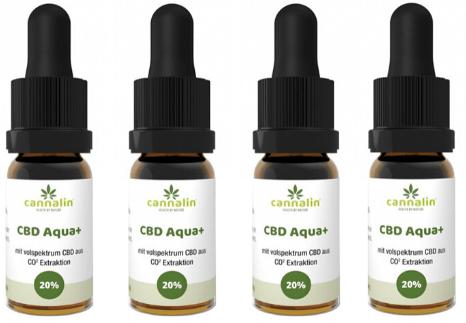 Aqua CBD 20% Angebot 10ml | 4 zum Preis von 3