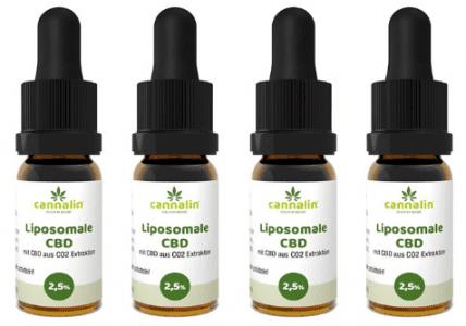 Liposomales CBD 2,5% Angebot