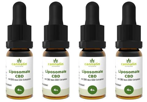 Liposomales CBD 4% Angebot 10ml | 4 zum Preis von 3