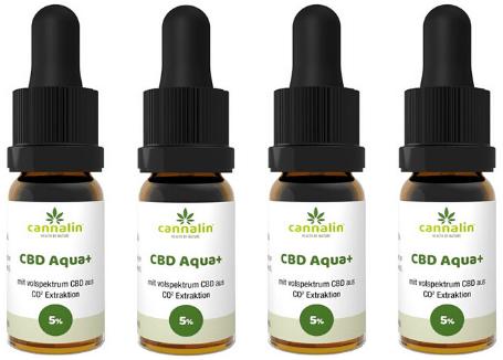 Aqua CBD 5% Angebot 10ml | 4 zum Preis von 3