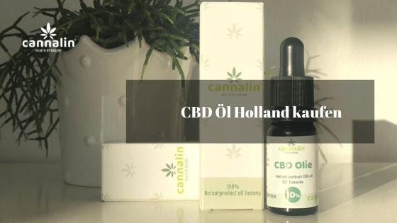 CBD Öl Holland kaufen - Cannalin