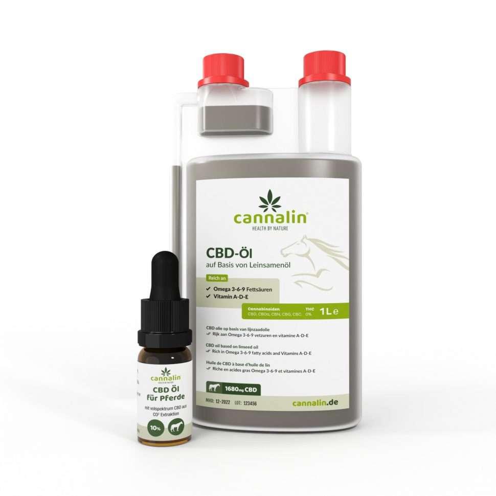 CBD-Öl für Pferde | Kombipaket mit 10 ml