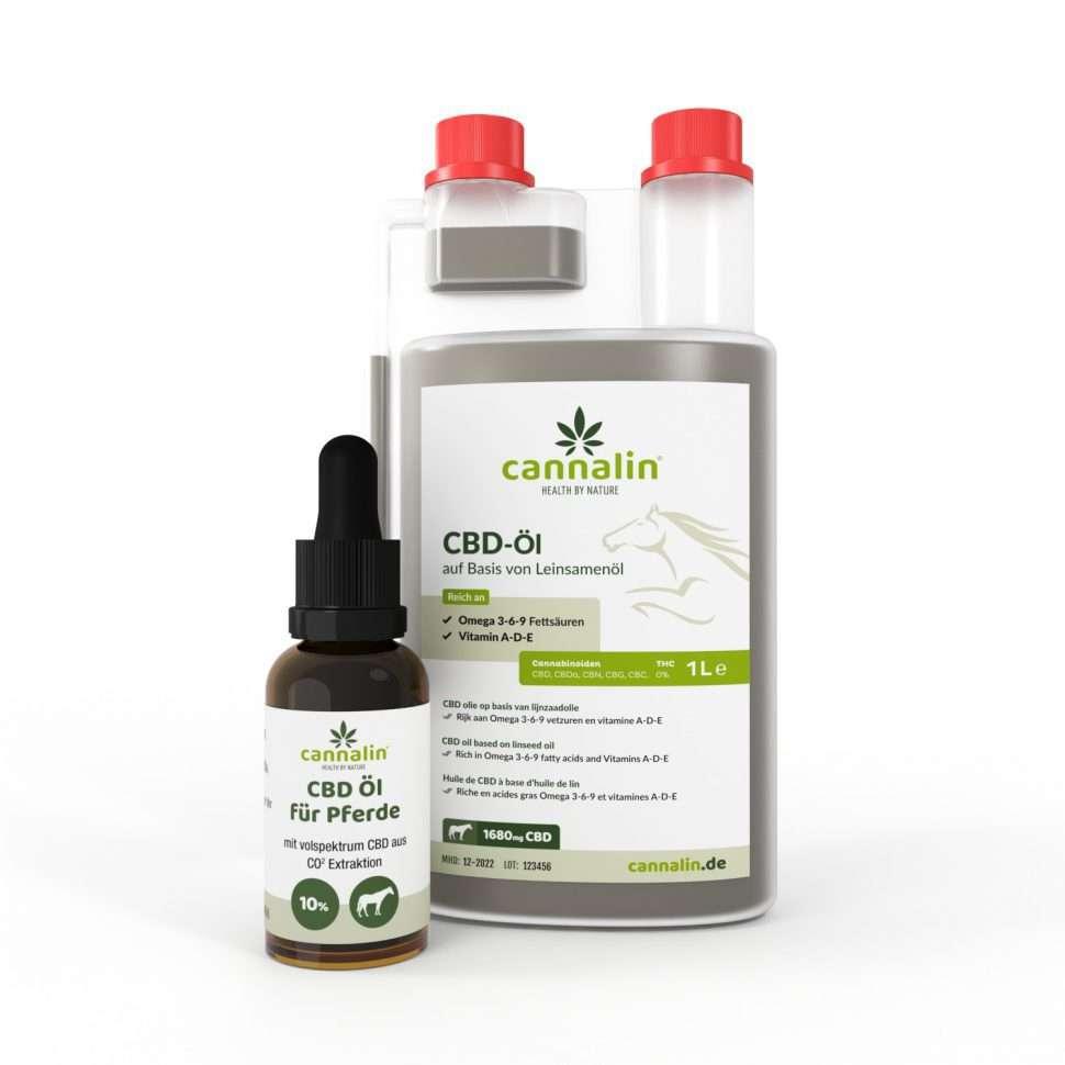 CBD-Öl für Pferde | Kombipaket mit 30 ml